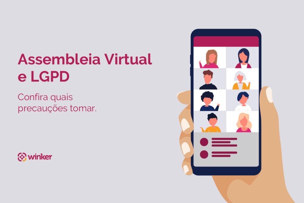 LGPD em assembleia virtual