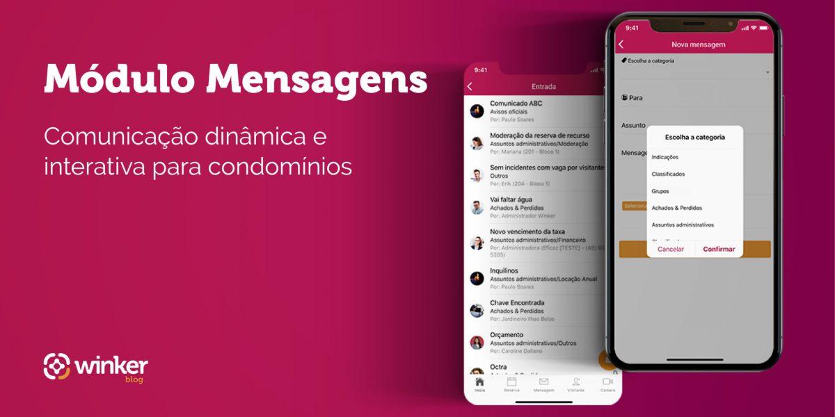 módulo mensagens